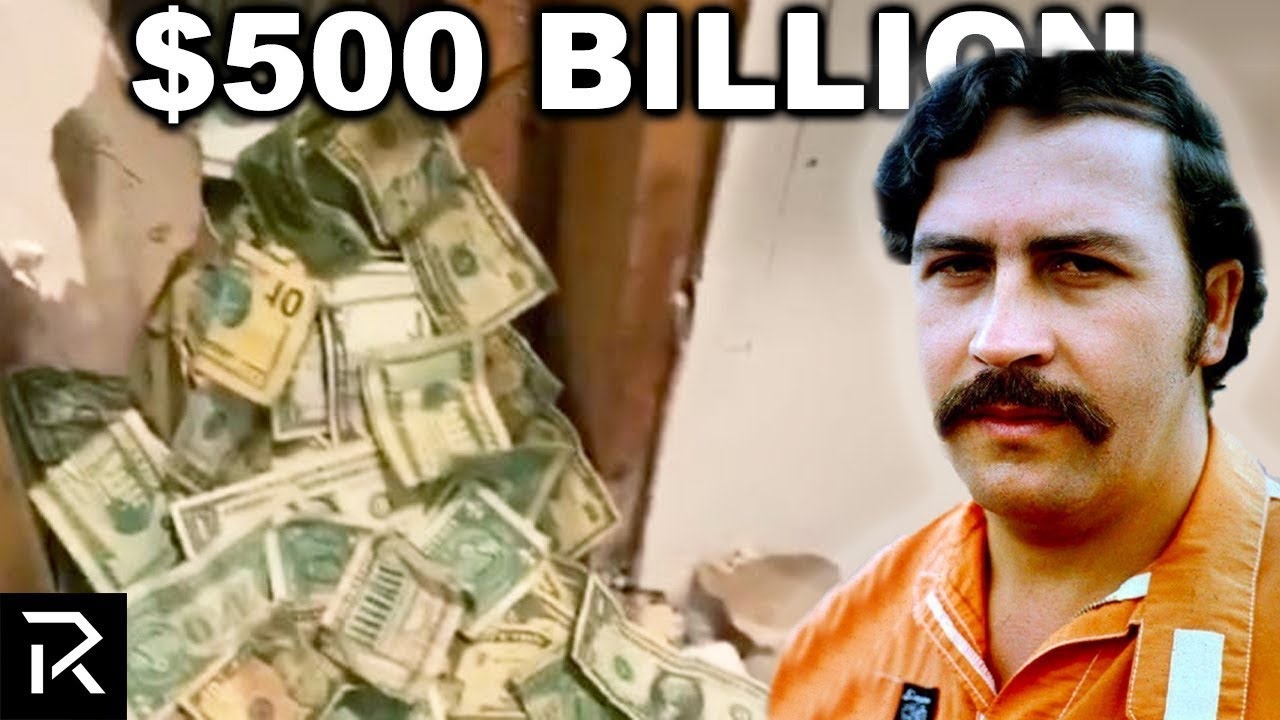 Pablo Escobar Hid $500 Billion And $18 Million Was Found