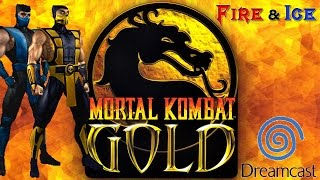 Fire & Ice - Mortal Kombat Gold Team Doubles