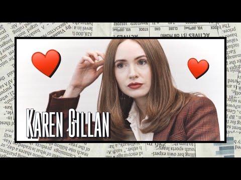 Watching this video will make you love Karen Gillan (Endgame moments)