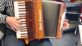 Klangprobe Akkordeon Paolo Soprani Folk ***NEU 2015***