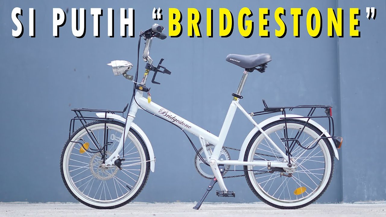 Restorasi Sepeda Minion Bridgestone Youtube