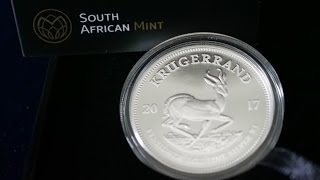 4K Look At Silver Proof Krugerrand Coin