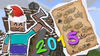 Приключения в Minecraft: ПОИСК ХАТЫ НА НОВЫЙ ГОД