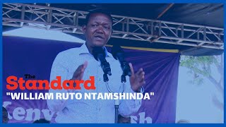 Machakos Governor says he will defeat William Ruto even as he agreed with him in matters BBI