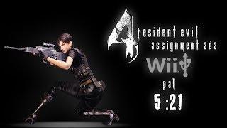 Resident Evil 4 - Assignment Ada Speedrun (5:21) - Wii - USB - PAL