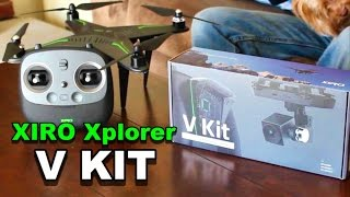 Xiro Xplorer Drone V Kit UAV GPS HD Camera and Gimbal Unboxing - TheRcSaylors(The Xiro Xplorer Drone has proven to be pretty awesome in the air, now we want to check out the V Kit to see how the app, camera, and gimbal works! This is a ..., 2016-02-05T22:30:00.000Z)