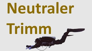 Neutraler Trimm