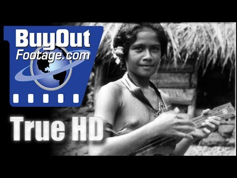 Fairest Eden - American Samoa Pago Pago 1931 Historic HD Footage