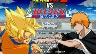 Repeat youtube video Dragon Ball Z vs Bleach M.U.G.E.N (2010) Updated!