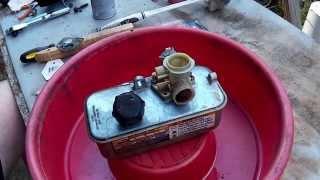 Briggs and Stratton Plastic Pulsa Prime Carburetor (Carb) Rebuild