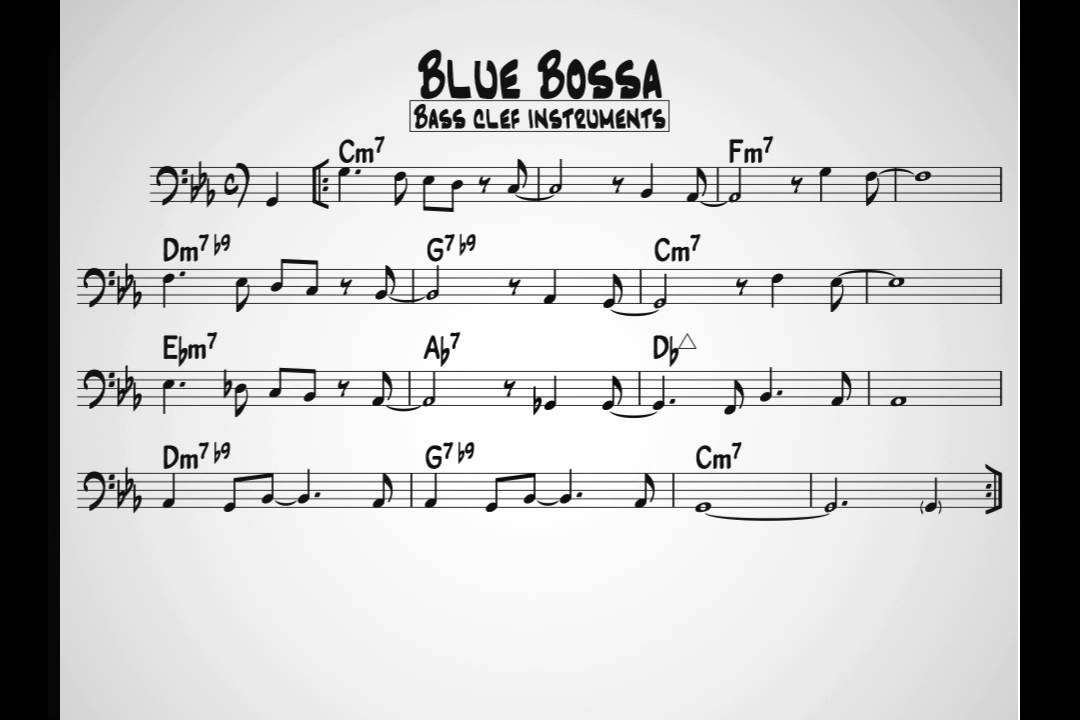 Music Paper | Bass Tools | StudyBass