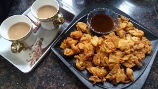 Aalu pyaz k pakode | बारिश के मौसम में बनाएँ आलू प्याज़ के चटपटे पकोड़े जैसे आपने कभी नहीं खाए होंगे