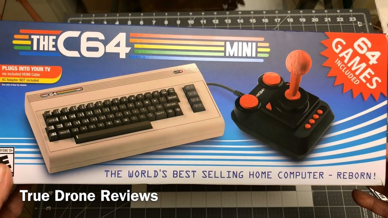 Commodore 10 Mini Quick Look Unboxing and Preview and Hack Link