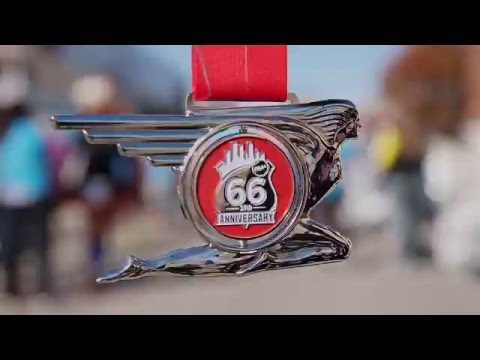 Williams Route 66 Marathon. Historic Route Legendary Race. Join us in Tulsa, OK