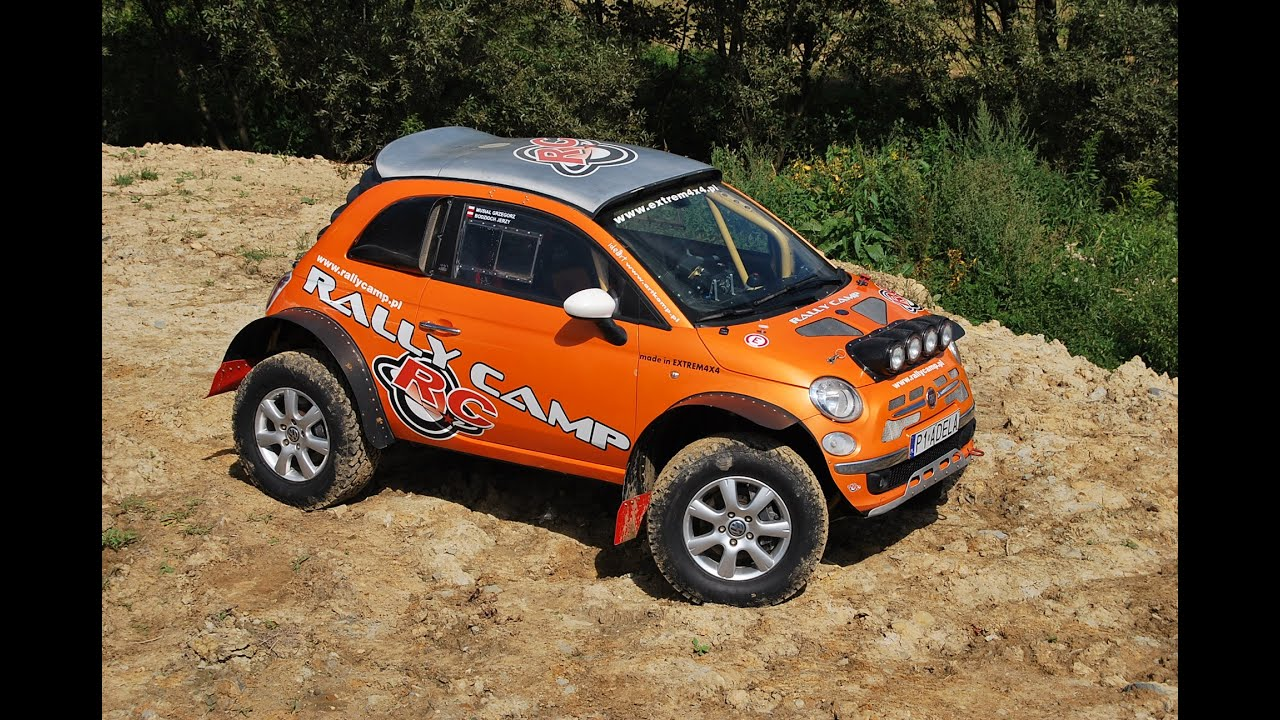 Fiat 500 4x4 2 0 Tfsi 320ps Made By Extrem 4x4 Youtube