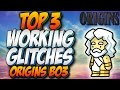 BO3 GLITCHES: TOP 3 WORKING GLITCHES ON ORIGINS - BLACK OPS 3 ZOMBIE CHRONICLES