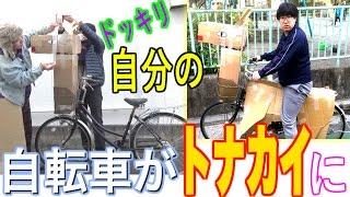 同居人の自転車を勝手に改造してやりました! トナカイに改造です! 一...