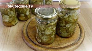 Pikantna sałatka z ogórków z chilli i czosnkiem :: Skutecznie.Tv [HD]