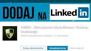ASBiRO na LinkedIN