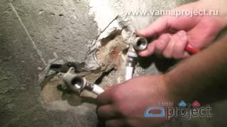 видео ремонт ванной под ключ