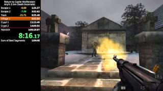 Return to Castle Wolfenstein Speedrun in 58:16 [PB]