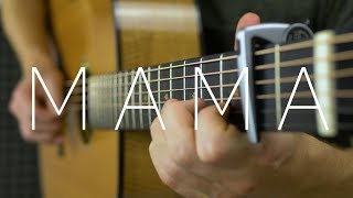 Video Jonas Blue - Mama ft. William Singe - Fingerstyle Guitar Cover by James Bartholomew download MP3, 3GP, MP4, WEBM, AVI, FLV Januari 2018