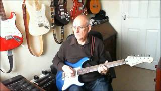 Red Red Wine - UB40 - Instrumental cover by Old Guitar Monkey