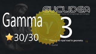 Euclidea 3 Gamma 30 30