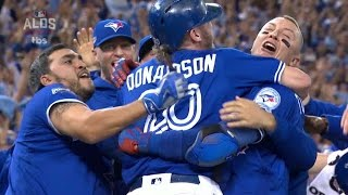 Tex@tor gm3: blue jays score winning run after review