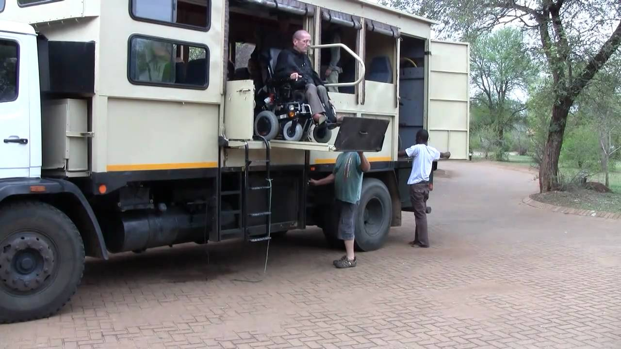 Epic Enabled Safari Truck South-Africa - YouTube