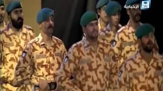 جانب من حفل وزارة الإعلام الكويتية بحضور خادم الحرمين وأميرالكويت