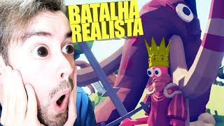 BATALHA TOTALMENTE REALISTA SAIU!!! E Fui TROLLADO!