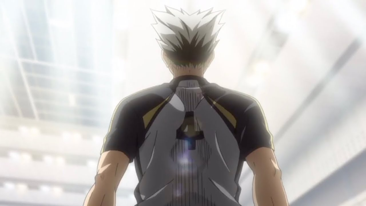 bokuto weakness number 6 haikyuu to the top season 4 episode 12
