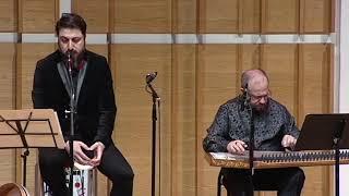 Ussak Pish Daramad by Ross Daly and vocal improvisation by Ahmet Erdogdular