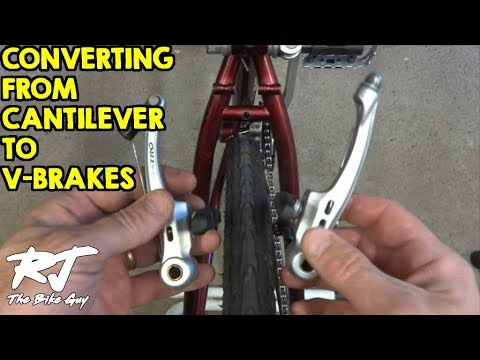 Converting From Cantilever To V-Brakes