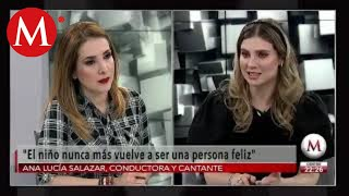 Soy víctima de Juan Pablo II porque guardó silencio: Ana Lucía Salazar