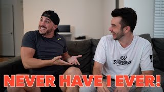 HILARIOUS NEVER HAVE I EVER CHALLENGE!