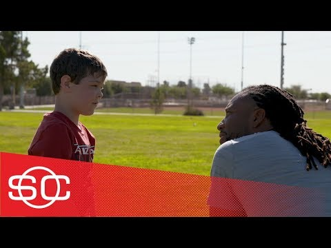 My Wish: Tennyson has wish to meet Cardinals WR Larry Fitzgerald granted | SportsCenter | ESPN