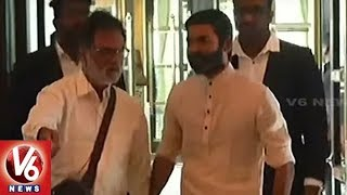 Rajinikanth Daughter Soundarya Wedding With Vishagan Vanangamudi | Chennai | V6 News