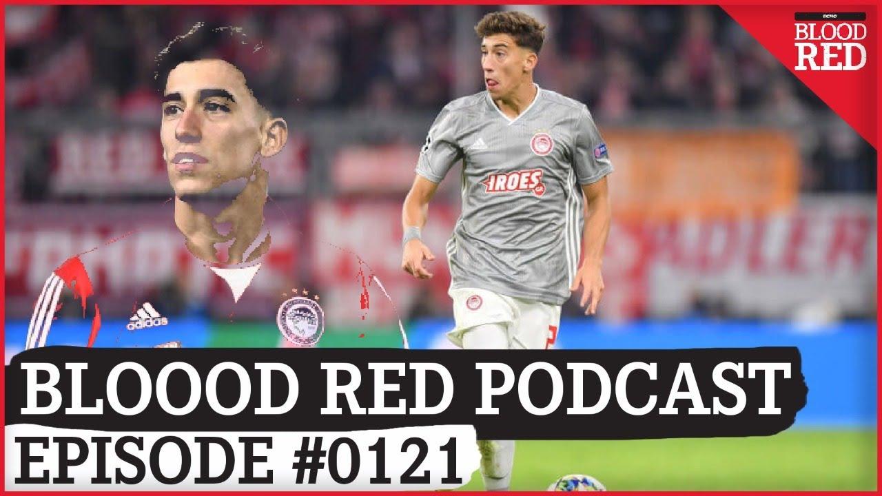 Blood Red Podcast: Kostas Tsimikas win race for Olympiakos defender Kostas Tsimikas