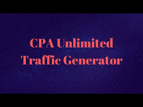 CPA Unlimited Traffic Generator|CPA Offer Free Promote Bangla Tutorial 2019 thumbnail