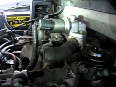 2001 ford focus engine diagram household light switch wiring p0401 code throttle body egr port cleaning 4.6 expedition part 3 of 5 - youtube