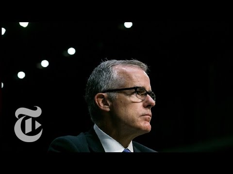 Acting FB. Director Andrew McCabe On Donald Trump, James Comey, Russia (Full) | The New York Times