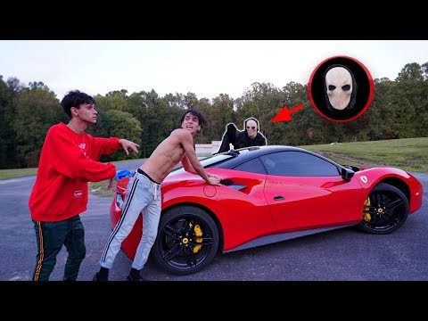 SCARY MONSTER STOLE MY CAR!