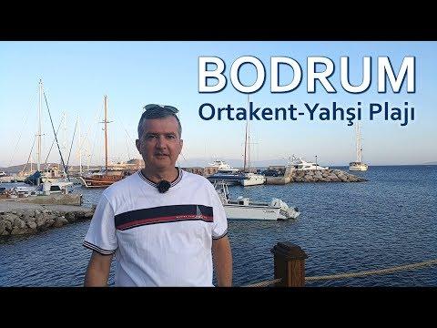 Bodrum Ortakent-Yahşi Plajı Ve Sahil Şeridi