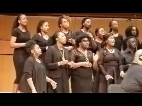 UMBC GOSPEL CHOIR 2017 SPRING CONCERT:  Jesus Saves by Marvin Winans