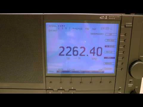 2262.5kHz Radio pesca di Chiba 千葉県漁業 / 漁業無線