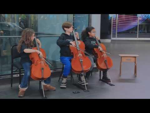 Spontaneous Performance!  Chamber Music Center of New York - December, 2016