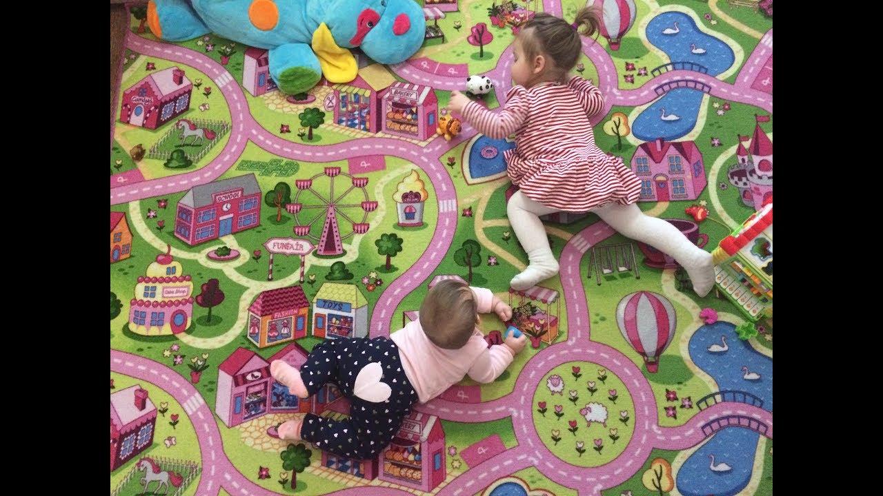 Ковры в детский сад Play 890 (детский-ковролин.com.ua) - YouTube