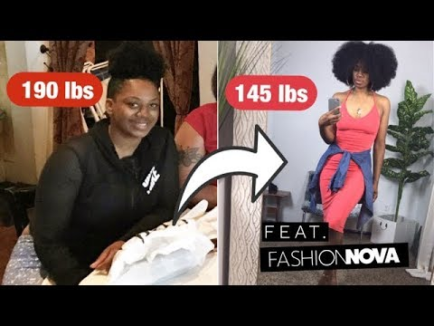 40+ lbs down!! Weight Loss Try On Haul! | HairByMason